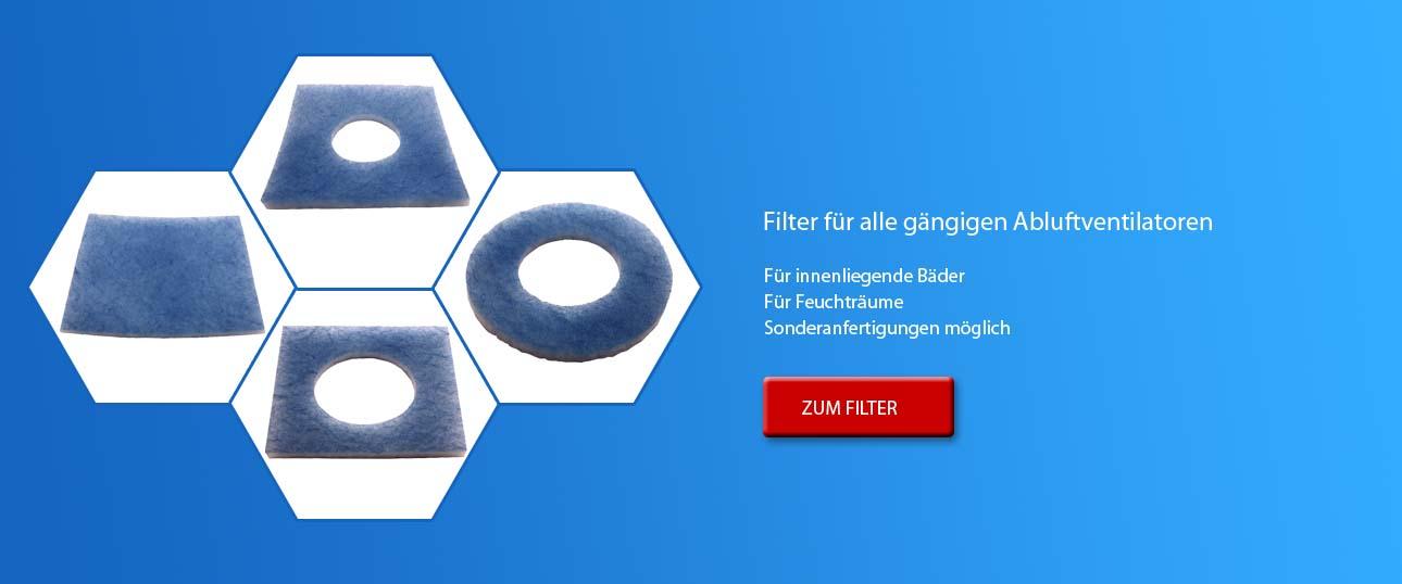 Luftungsfilter Ersatzfilter Alternativfilter Bad Abluft Zuluft